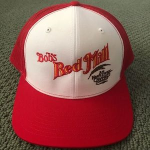 Bob's Red Mill cap- Snap adjustable